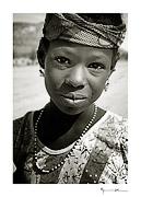 Peul girl, Mali #17