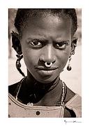Peul girl, Mali #6