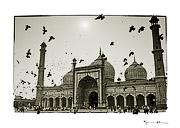 Mosque, Old Delhi, India #4